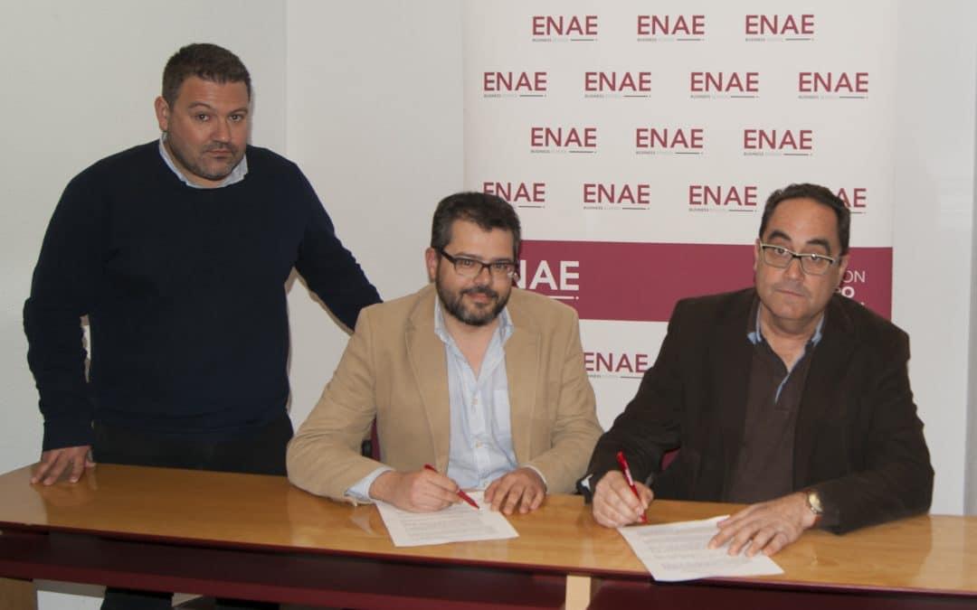 ENAE y Agromarketing firman convenio para promocionar su Máster en Dirección de Agronegocios